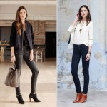 how to wear ankle boots Sezane Hunters