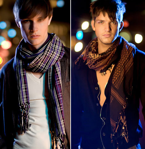 How to wear your men scarf How To Wear A Fashion Scarf Men