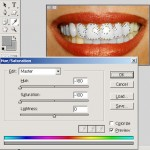 how to whiten your teeth in photoshop