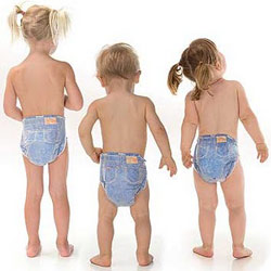 Denim Huggies For Trendy Toddlers