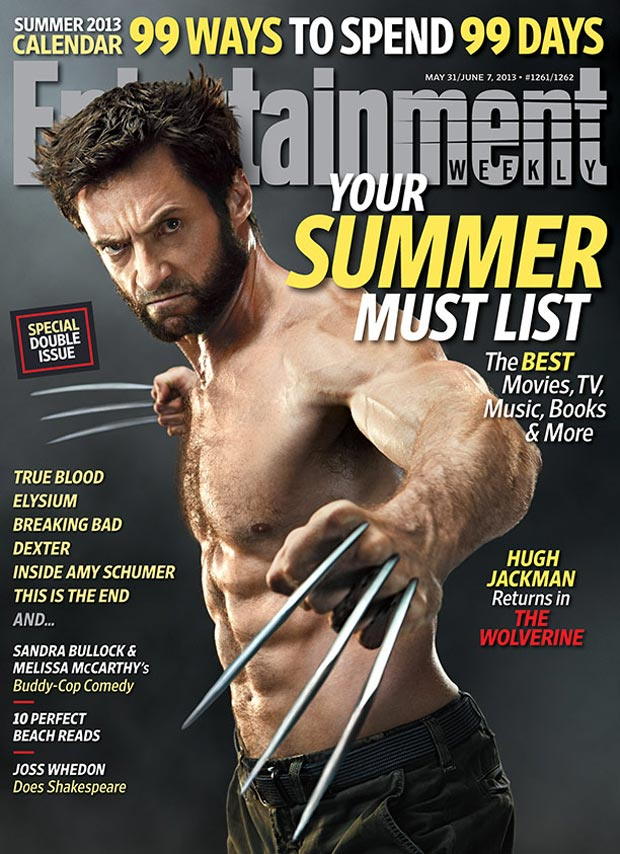 Hugh Jackman Wolverine s first cover EW