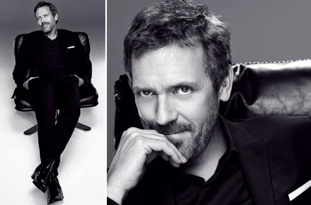Hugh Laurie L Oreal ad campaign