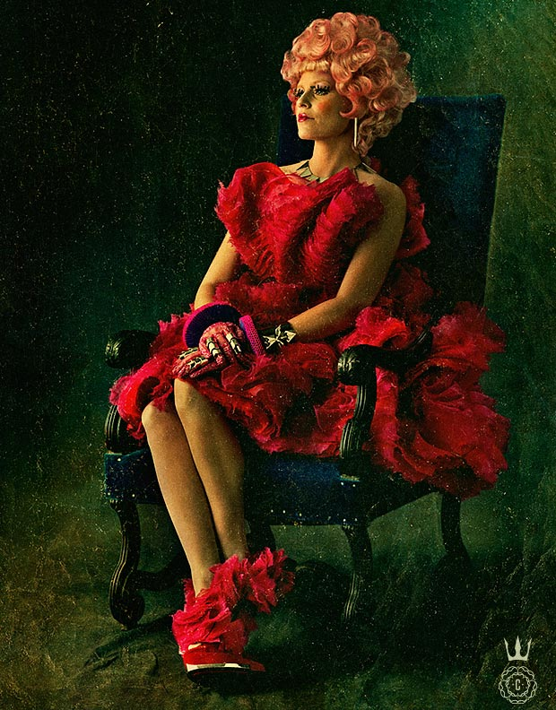 Hunger Games Effie Trinket Capitol Portrait