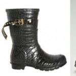 Hunter by Jimmy Choo rubber boots mid