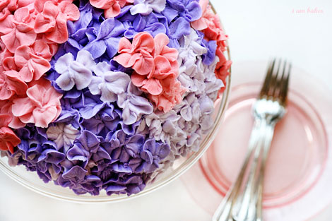Flowers For Your Table! Hydrangea Cake