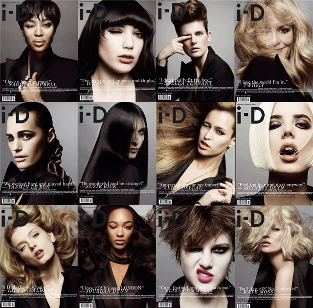 I-D Magazine March 09 cover