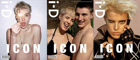 I-D Magazine May 2008 Cover with Agyness Deyn