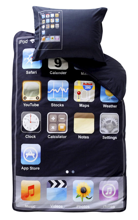iPod Touch Bed Set For The iPod Fan