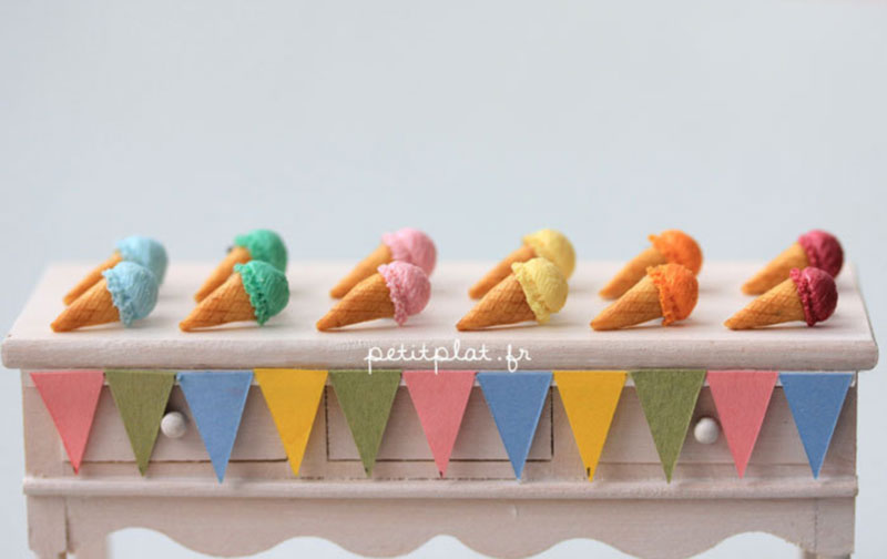 icecream earrings petitplat