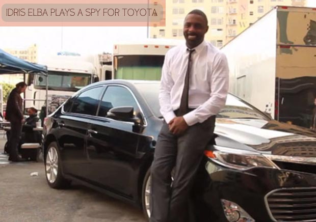 Idris Elba Bond like movies for Toyota