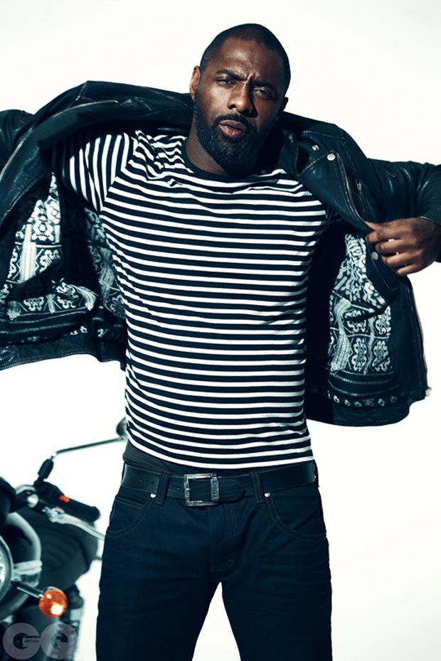 Idris Elba GQ March 2013 Norman Jean Roy