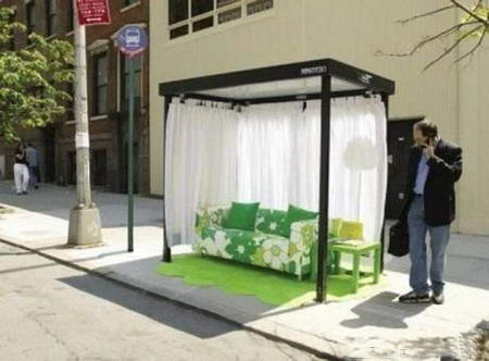 Ikea Creative Bus Stop