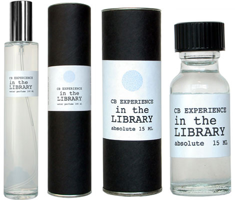 In the Library scented perfume