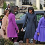 Inauguration Day First Family matching outfits