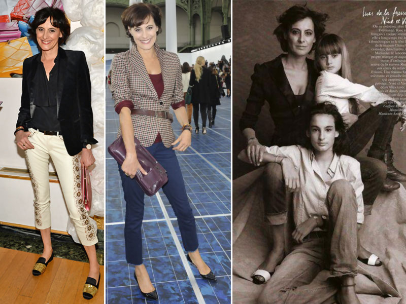 Ines de la Fressange style daughters