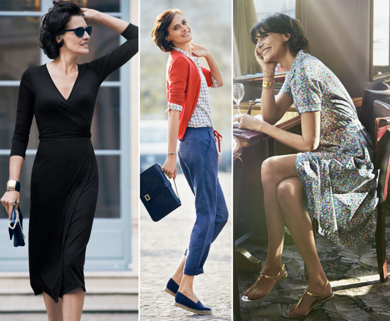 Top Ines de la Fressange super style Uniqlo - StyleFrizz | Photo Gallery GE63