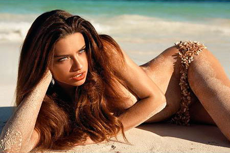 Inez and Vinoodh GQ Magazine April 2008 - Adriana Lima