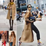Inspiring fall outfits Camel Coat look