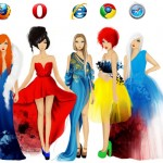 Internet browsers fashion designs