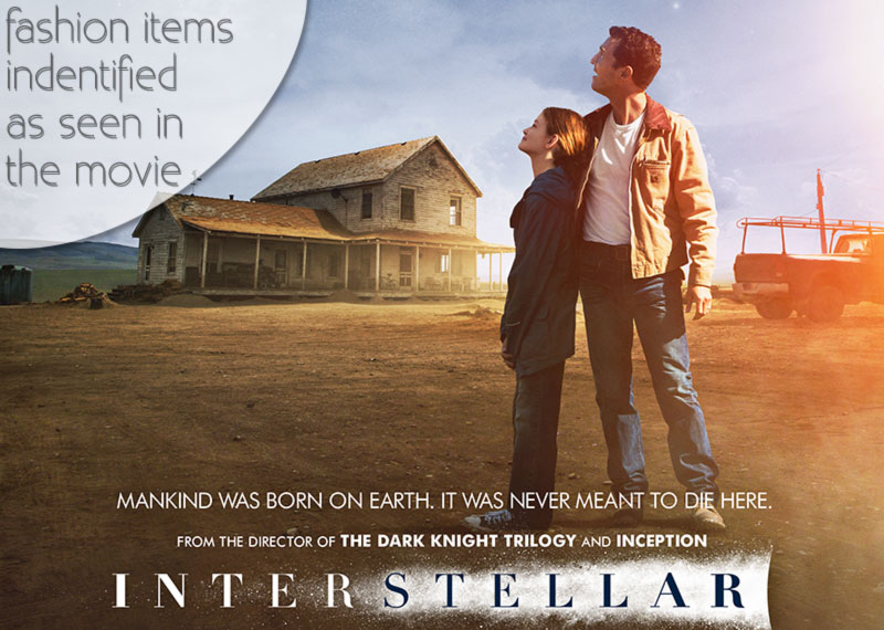 Interstellar movie fashion items identified