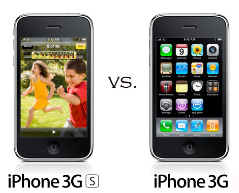 iPhone 3G S vs iPhone 3G
