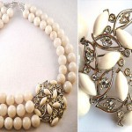 Irene Jung necklace Bliss white