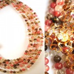 Irene Jung necklace Cherry Medley large