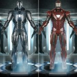 Iron Man suits armory