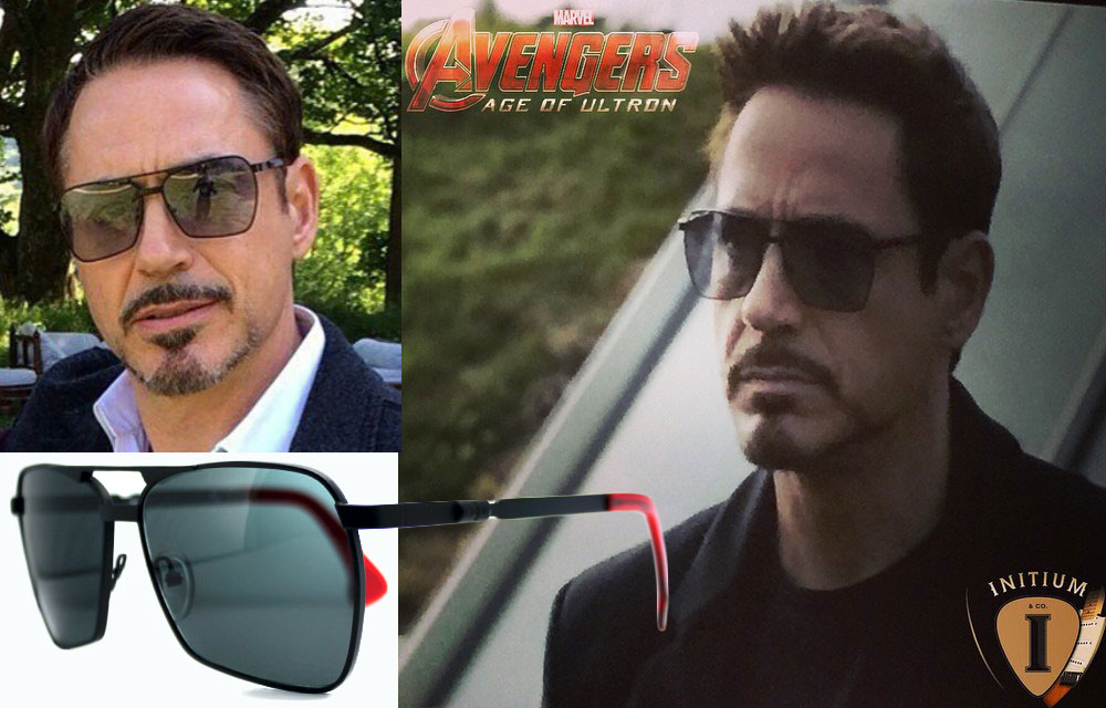 Iron Man Tony Stark Robert Downey Jr sunglasses Avengers Ultron Initium All In