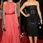 Isabel Lucas Leighton Meester Louis Vuitton dresses Met Gala 2011