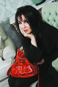 Isabelle Adjani Lancel Bag