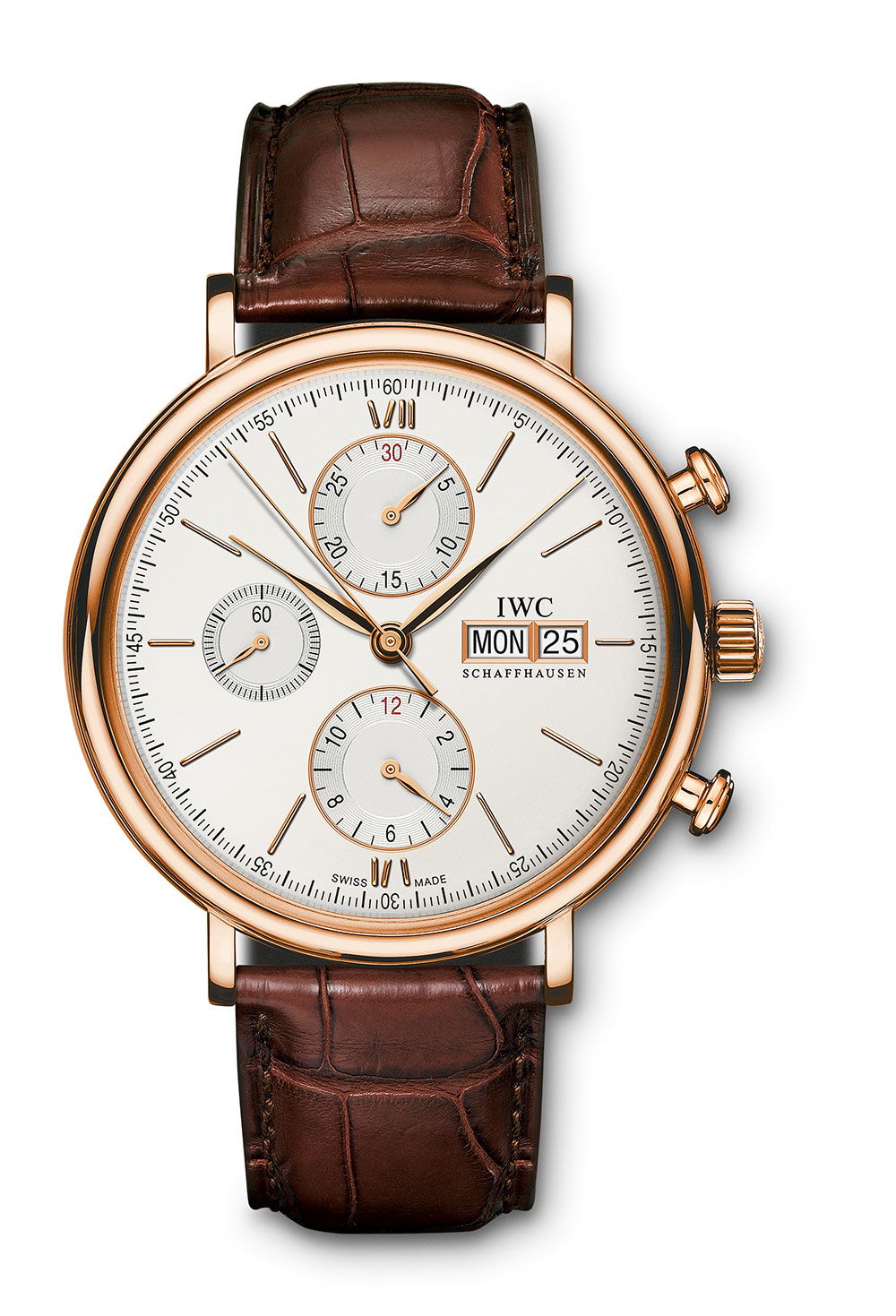 IWC Portofino Chronograph watch gold
