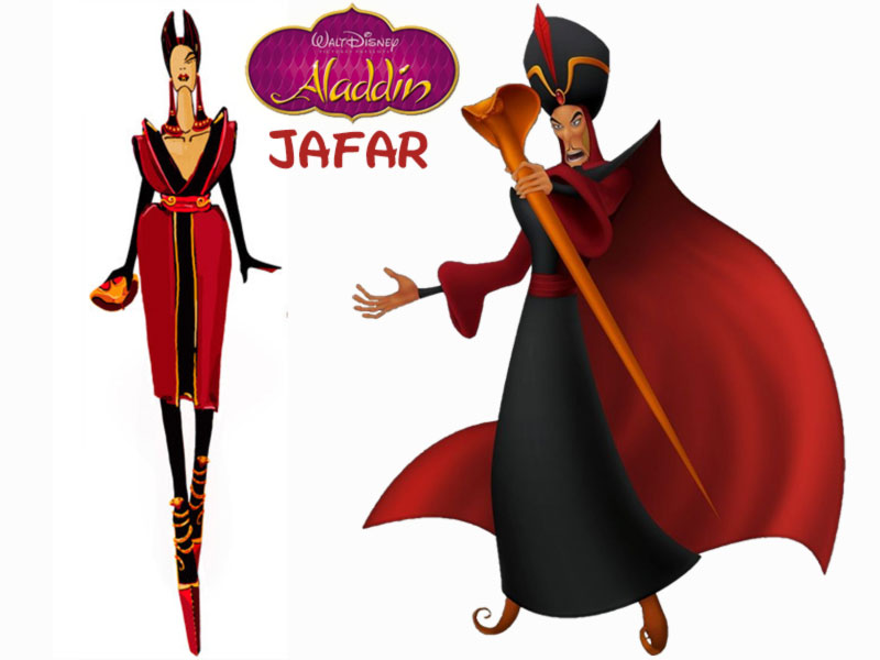 Jafar fashion update Disney Villains Aladdin