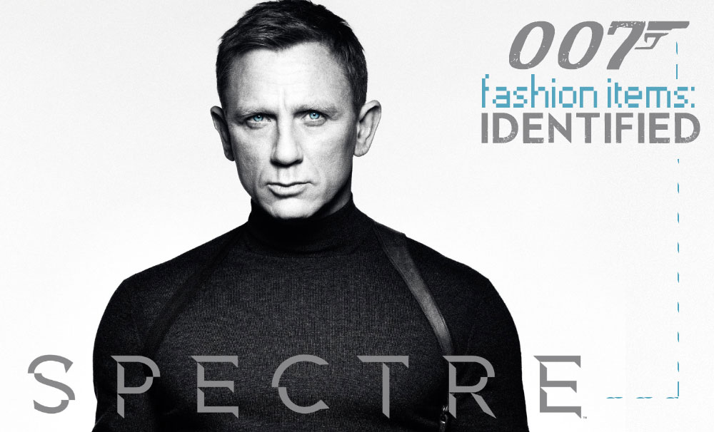 James Bond Spectre what Daniel Craig wears