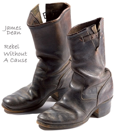 James Dean shoes Rebel Without a Cause