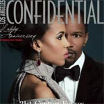 Kerry Washington, Jamie Foxx Go Django Unchained For LA Confidential