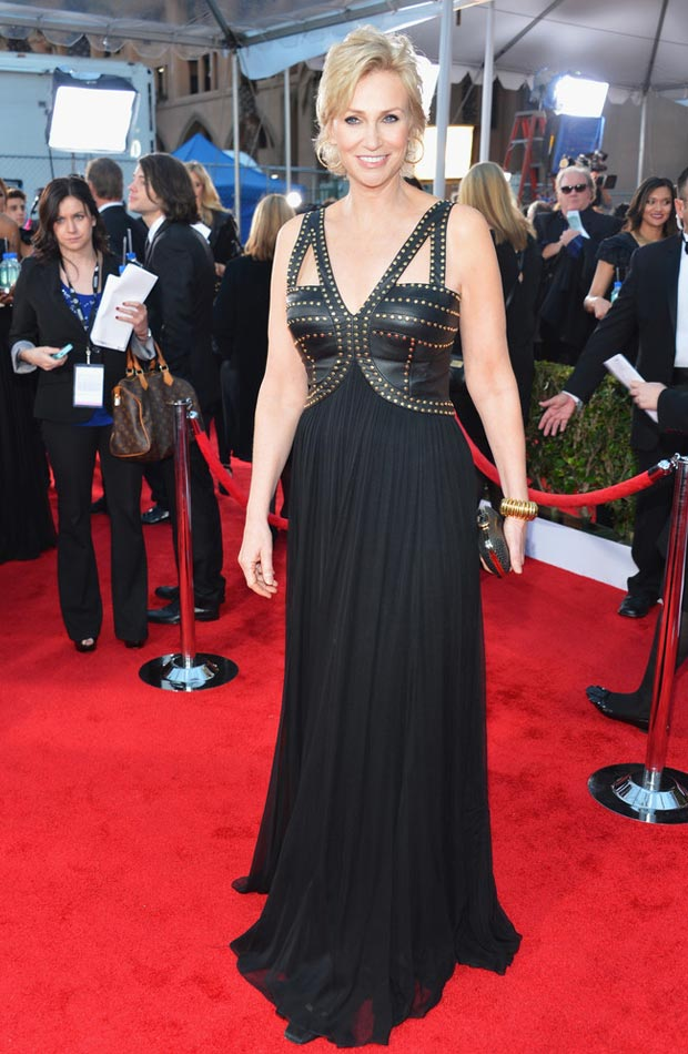 Jane Lynch black dress 2013 SAG Awards