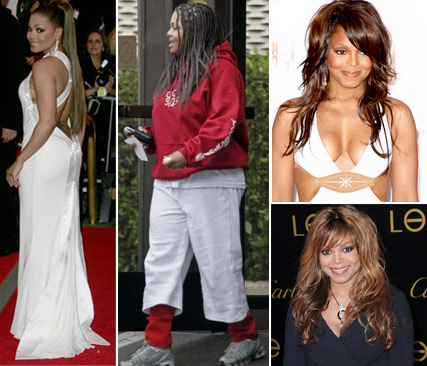 Janet Jackson Various Images