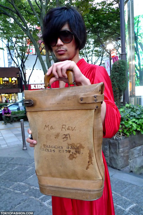 Japanese Men Style red