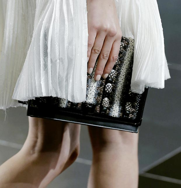 Jason Wu Fall 2013 clutch
