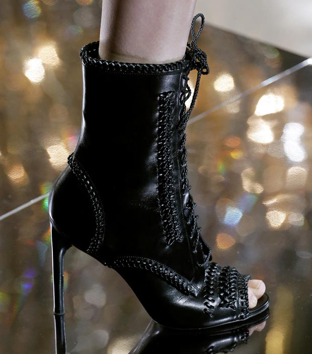 Jason Wu Fall 2013 laced up booties