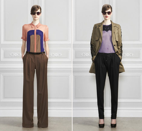 Jason Wu PreFall 2011 Wide Leg Pants