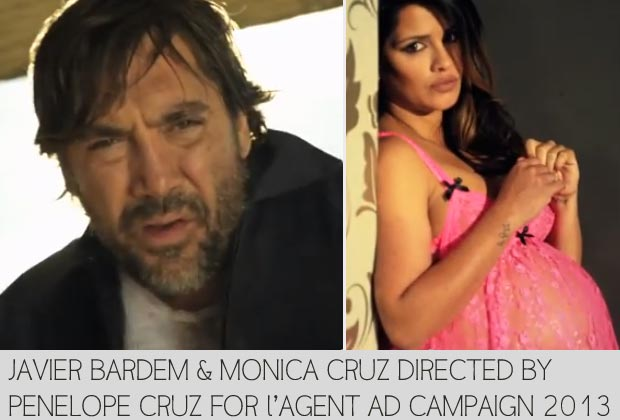 Monica Cruz, Javier Bardem Directed By Penelope Cruz For Agent Provocateur