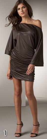 Jay Godfrey Metallic Dolman Dress