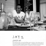Jay Z photographed by Lenny Kravitz