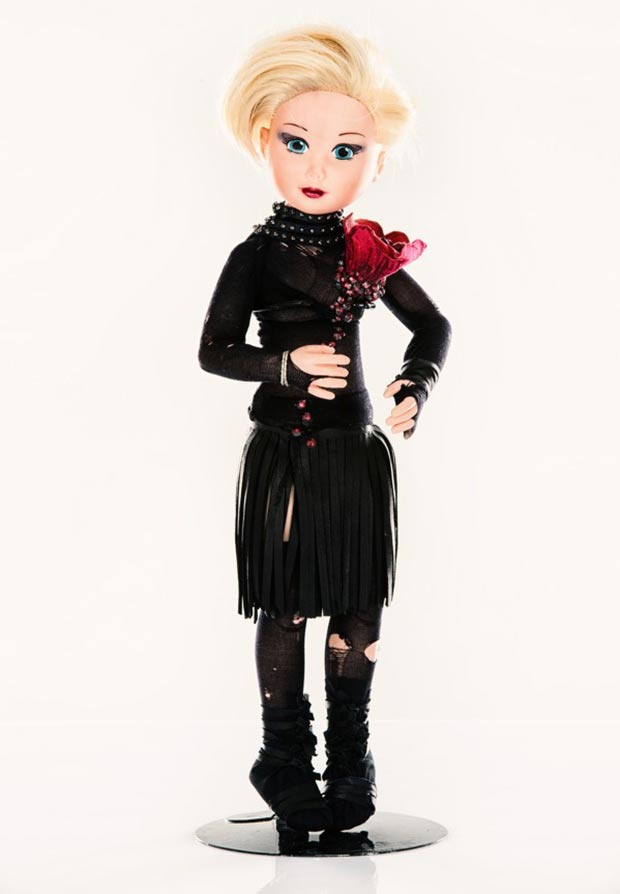 Jean Claude Jitrois doll for Unicef