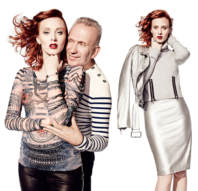 Jean Paul Gaultier for Lindex collection