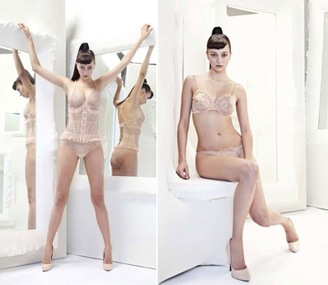 Jean Paul Gaultier La Perla lingerie collection