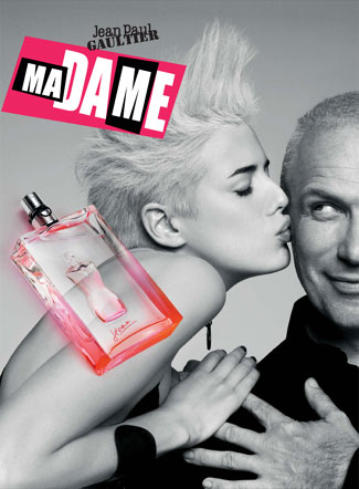 Jean Paul Gaultier Ma Dame with Agyness Deyn Advertising