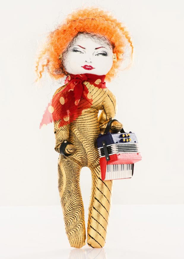Jean Paul Gaultier Yvette doll for Unicef